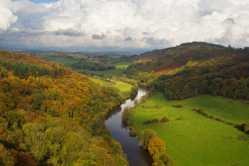 Symonds Yat View of Wye River