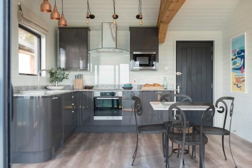Atlanta Cornwall inside of kitchen