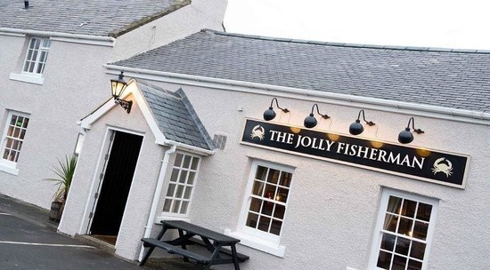 The Jolly Fisherman, Northumberland pub in Craster