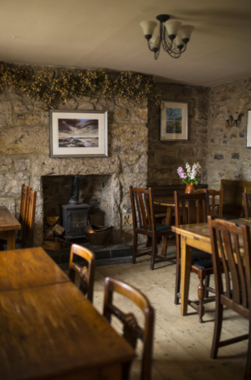 The Ship Inn, Low Newton, Northumberland - inside