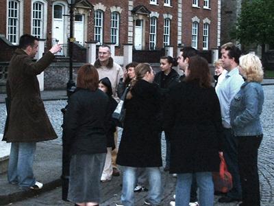 People on Bristol ghost walk