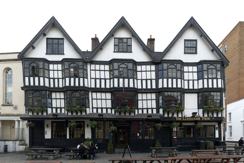 Llandoger Trow Pub in brisol