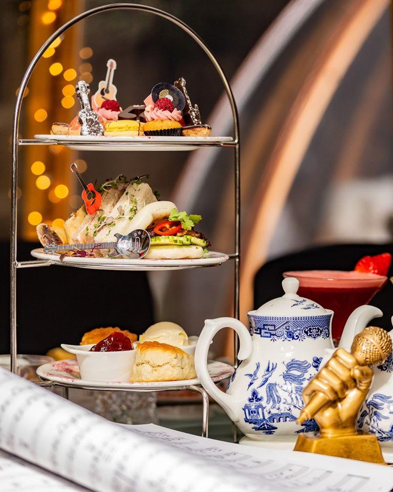 Afternoon tea at the London Secret Garden