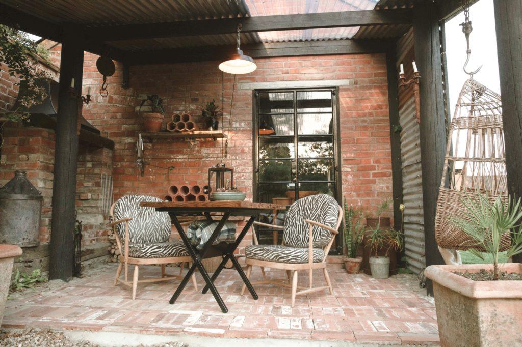 Outbuildings in Bridport, Dorset - patio
