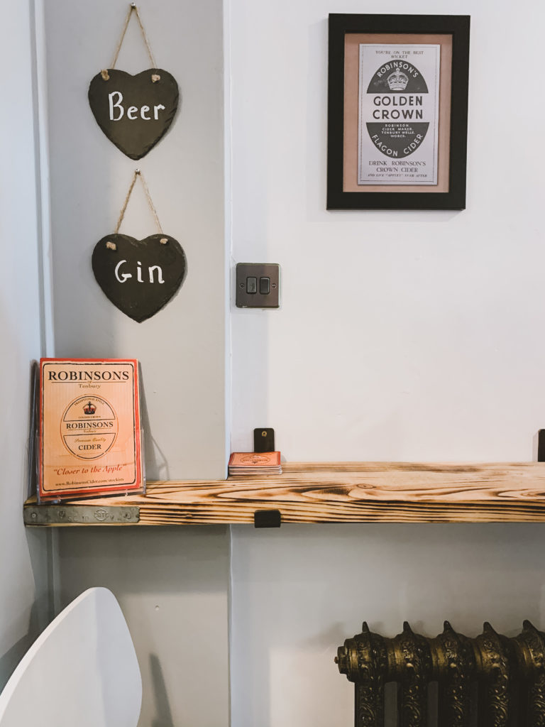 beer and gin house in brecon - inside