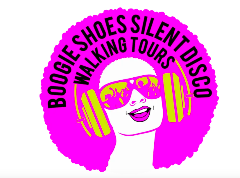 Boogie Shoes Silent Disco Tour logo