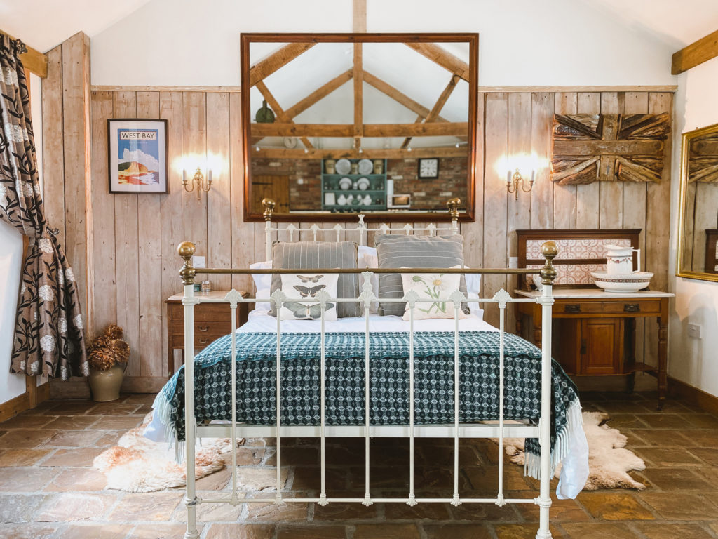 Outbuildings in Bridport, Dorset - bedroom