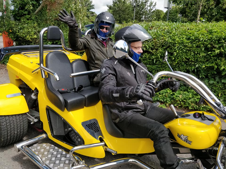 Chiltern Trike Tours Driver and Passenger
