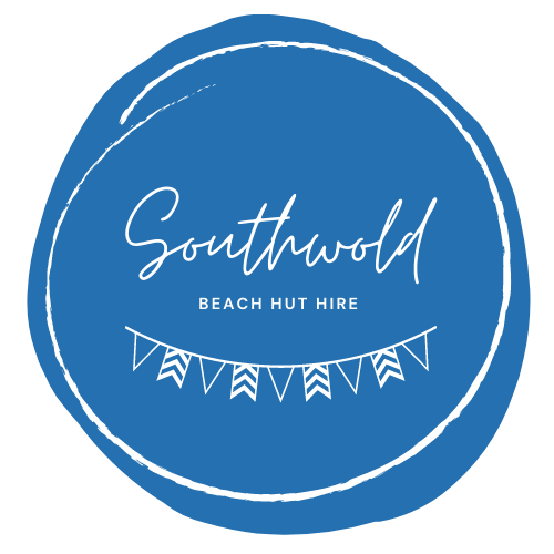 logo for southwold beach hut jabba the hut