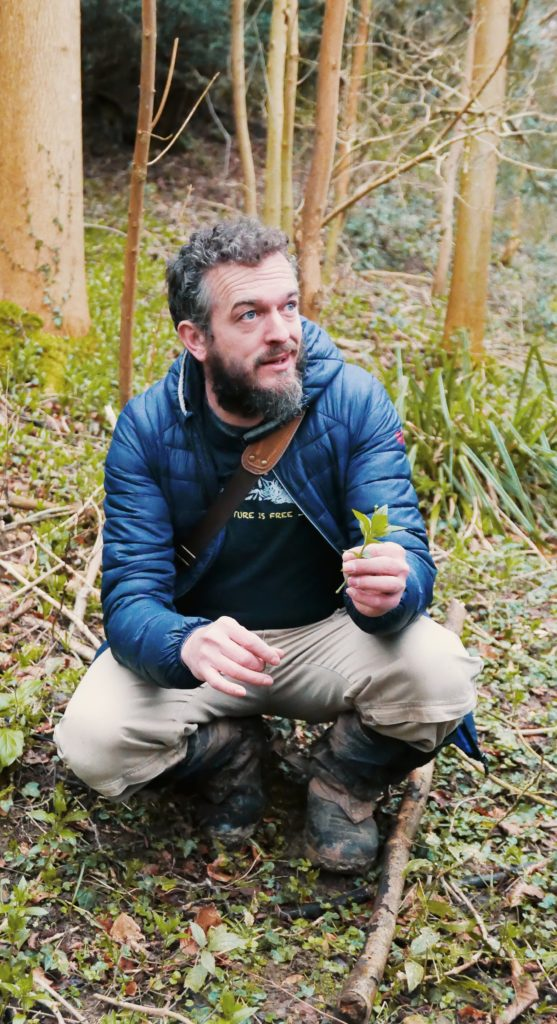 Foraging in Cheltenham with Cotswold Forager - Rob Gould