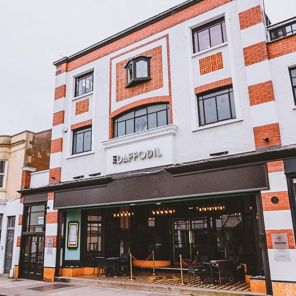 The Daffodil Restaurant in Cheltenham - Front