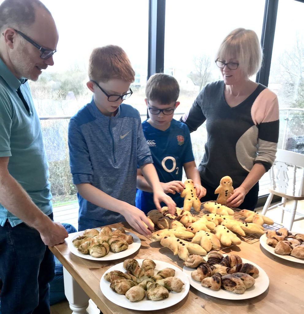 Severn Bites bread making classes - family experience
