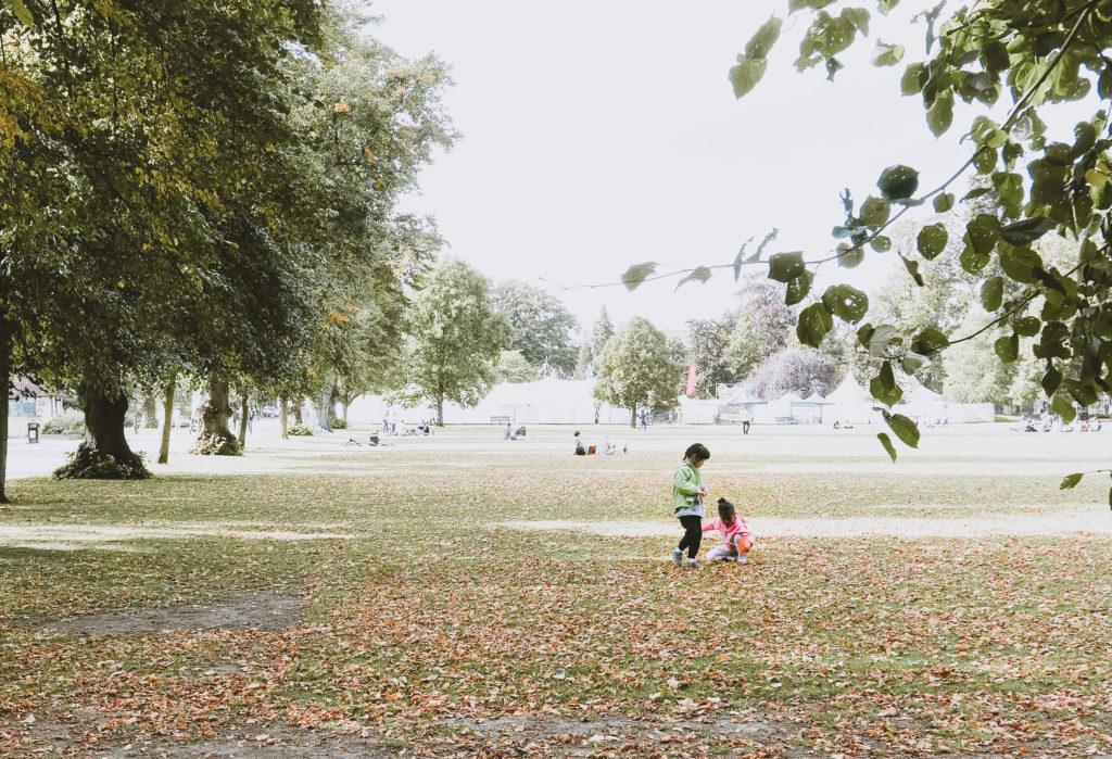 Cheltenham's Montpellier Park - kids playing