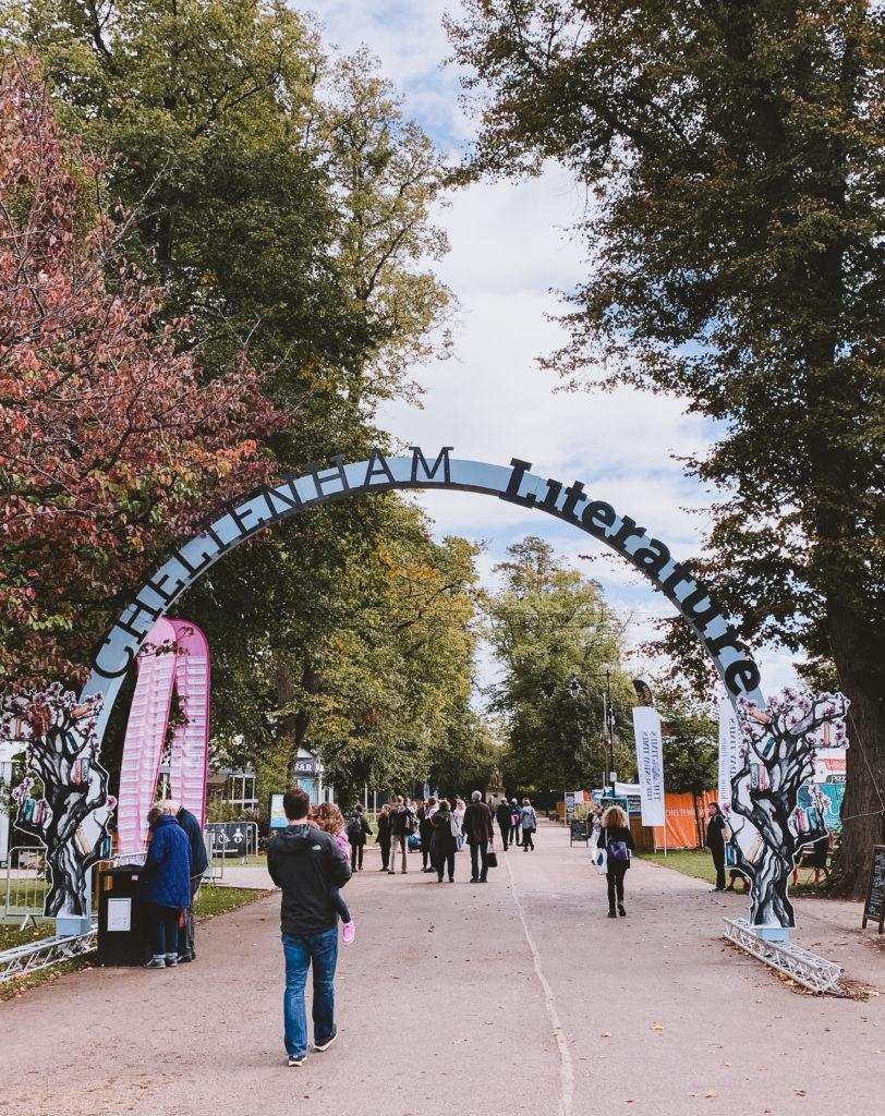 Cheltenham Literature Festival Entrance