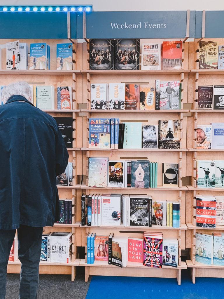 Cheltenham Literature Festival Book Tent Inside