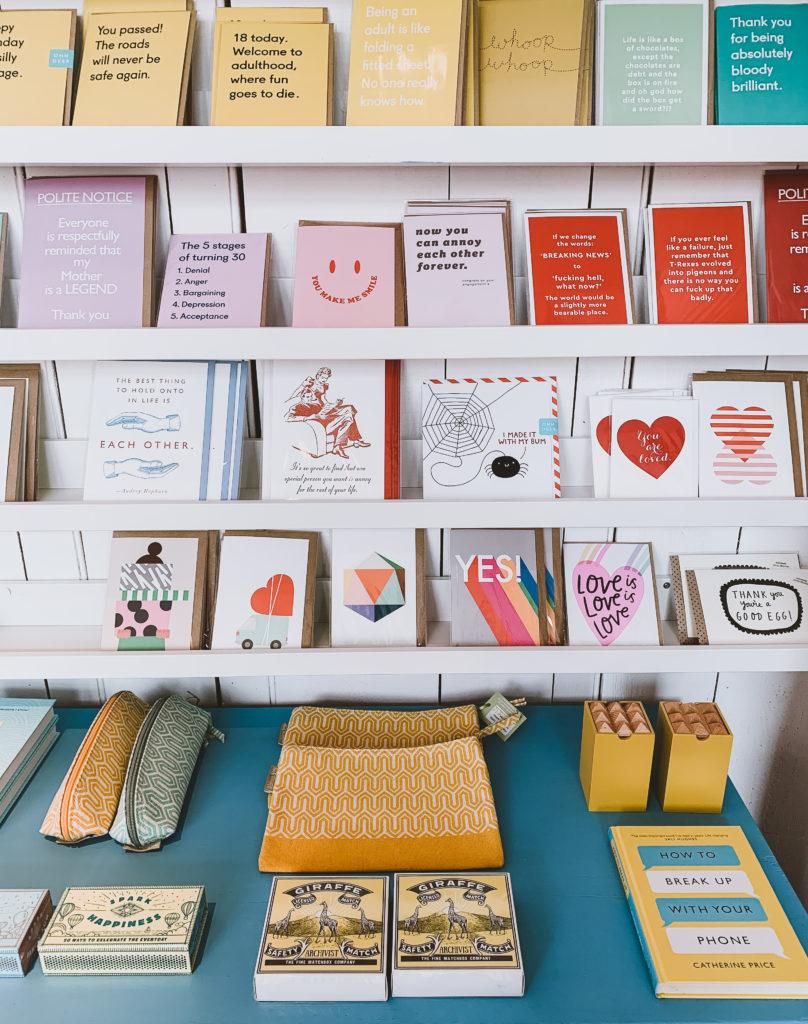 Catherine Colebrook Shop in Tivioli Cheltenham - inside products