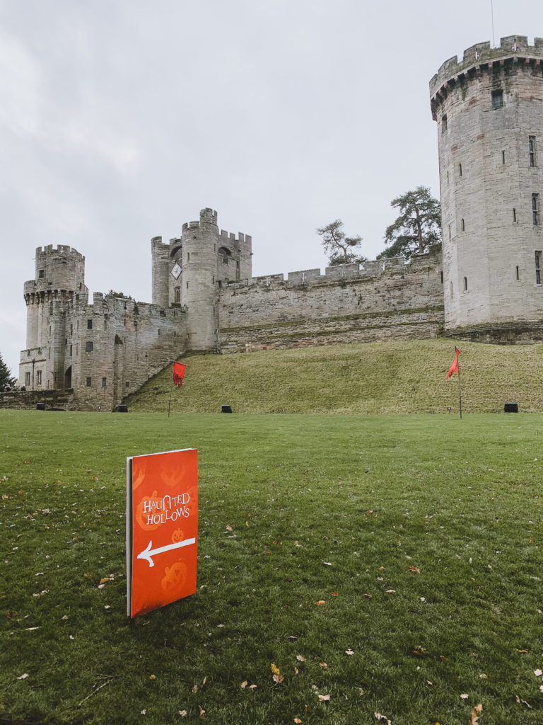 halloween at Warwick castle - grounds