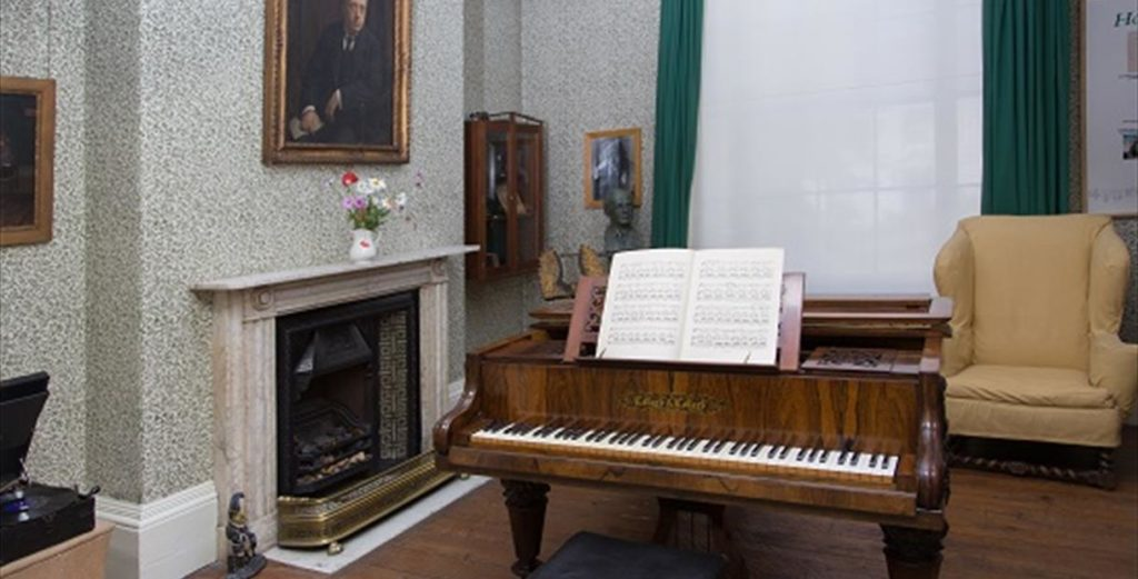 Gustav Holst Museum Cheltenham - Music Room Interior