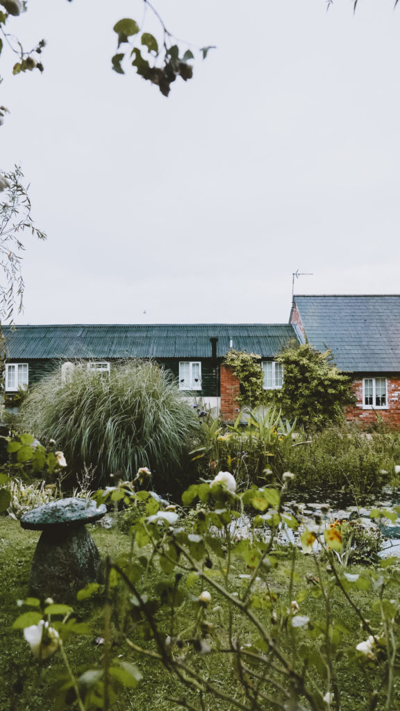 Outbuildings self-catering studios in Dorset