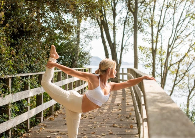 yoga with pip from Maitri Yoga outdoors