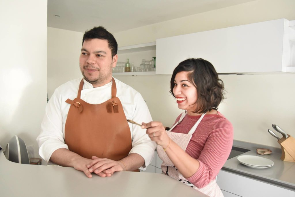 Gaby & Carlos from Aten-te-aute cooking