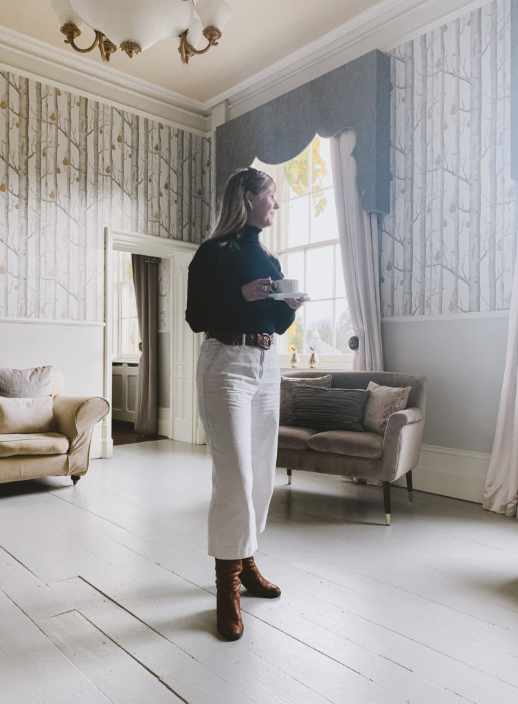 lemore manor coach house editor in drawing room