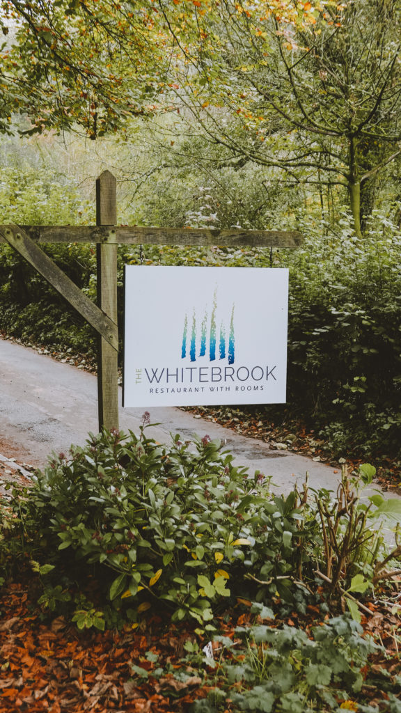 the Whitebrook restaurant in the Wye Valley