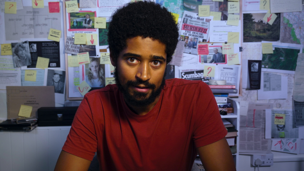 what a carve up theatre production lead actor: Alfred Enoch