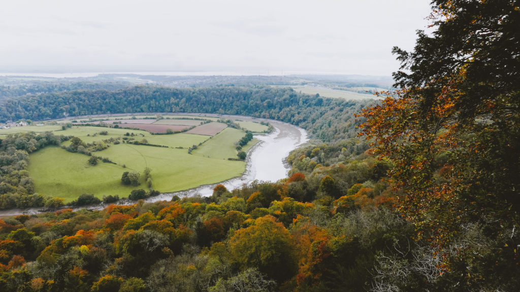 views over the wye valley