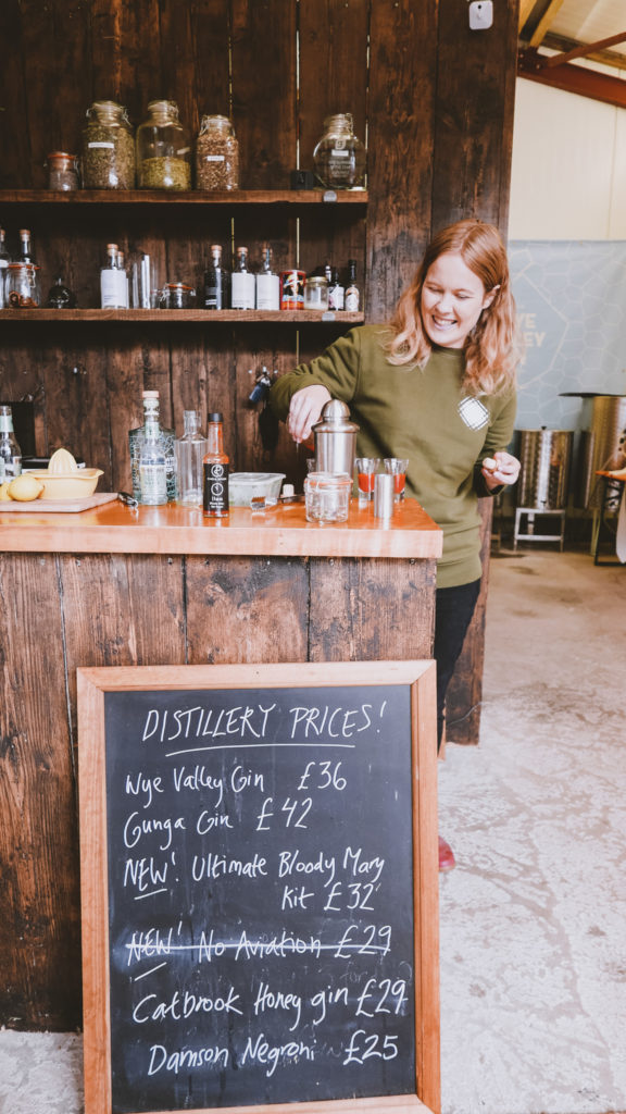Silver Circle Distillery in the Wye Valley - Owner, nina