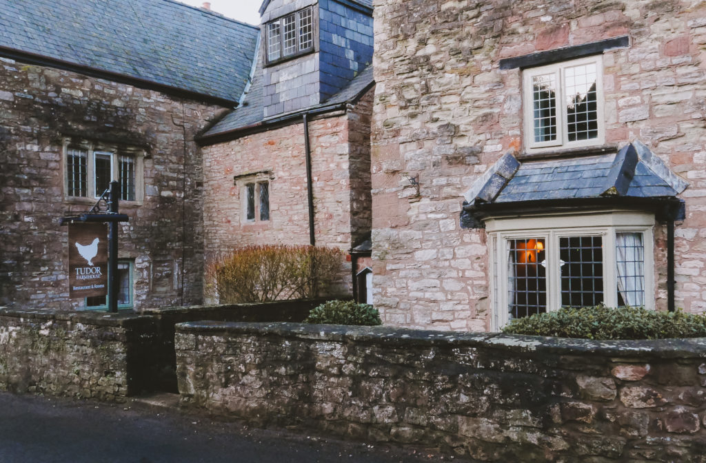 Tudor Farmhouse in the Forest of Dean - front of hotel
