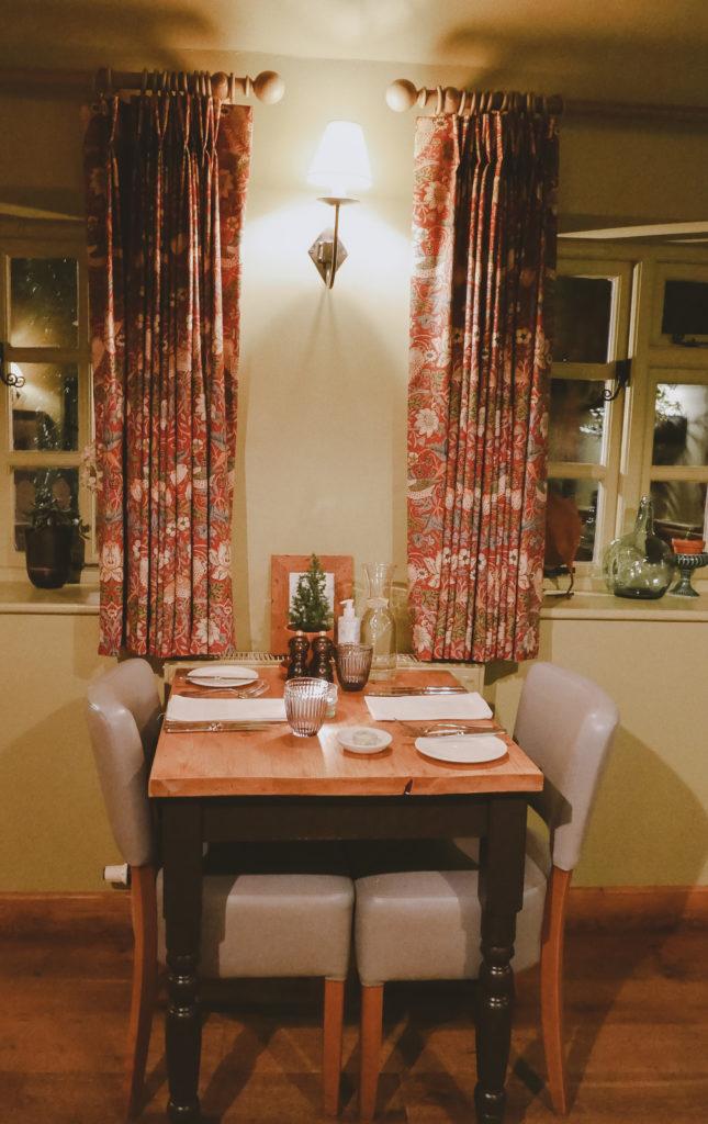Tudor Farmhouse in the Forest of Dean - restaurant