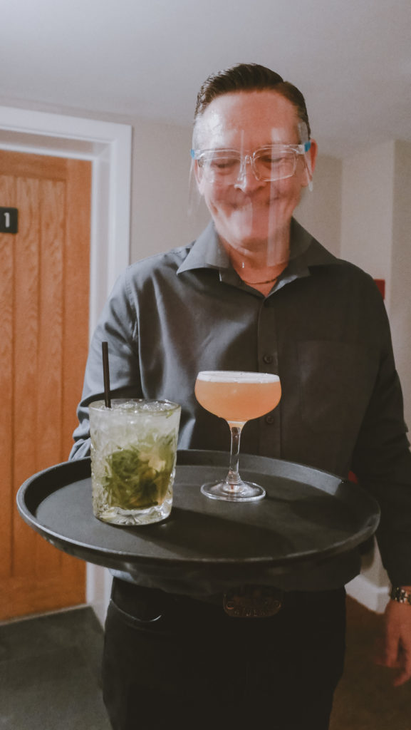 Tudor Farmhouse in the Forest of Dean - room service cocktails