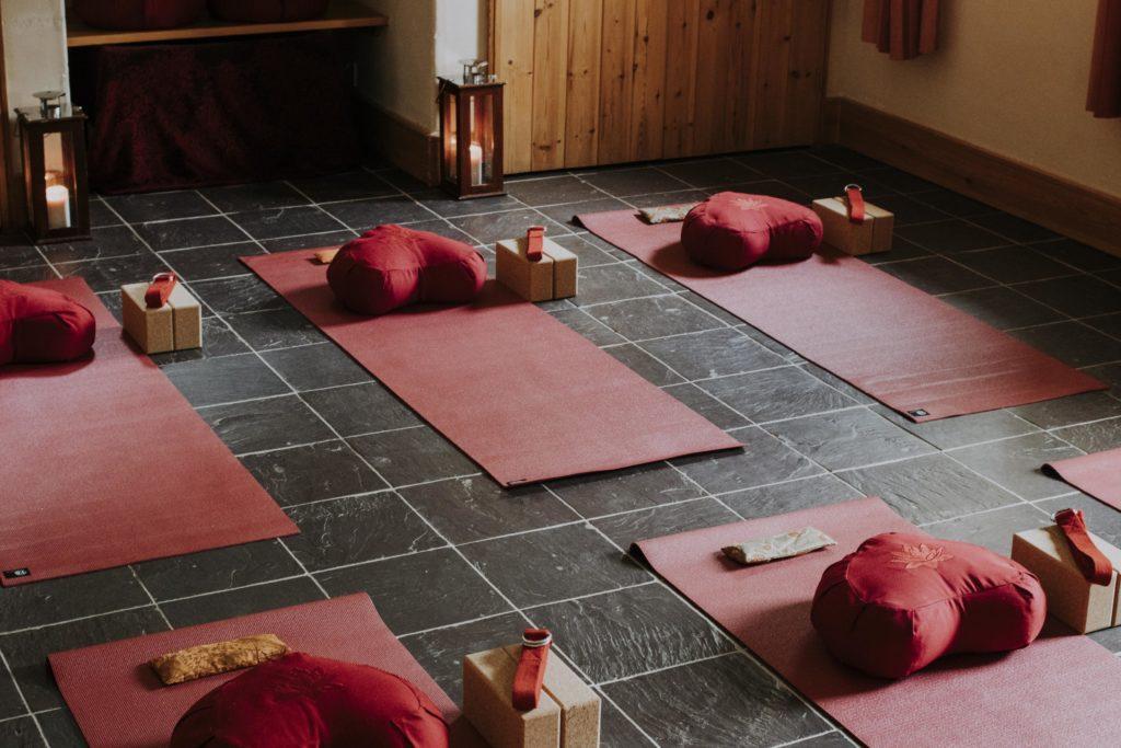 Swell Yoga Retreat North Devon - yoga mats