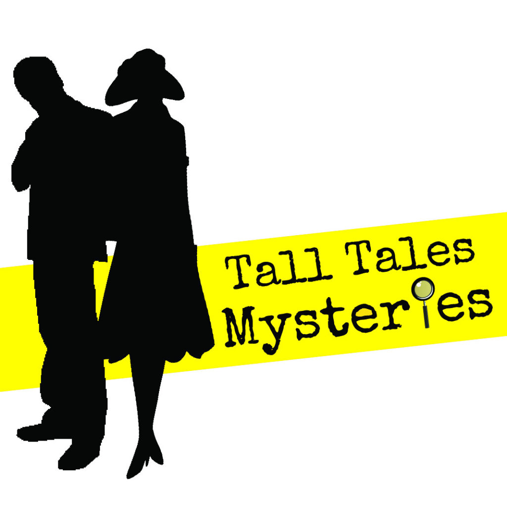 murder mystery weekends with Tall Tales Mysteries - logo