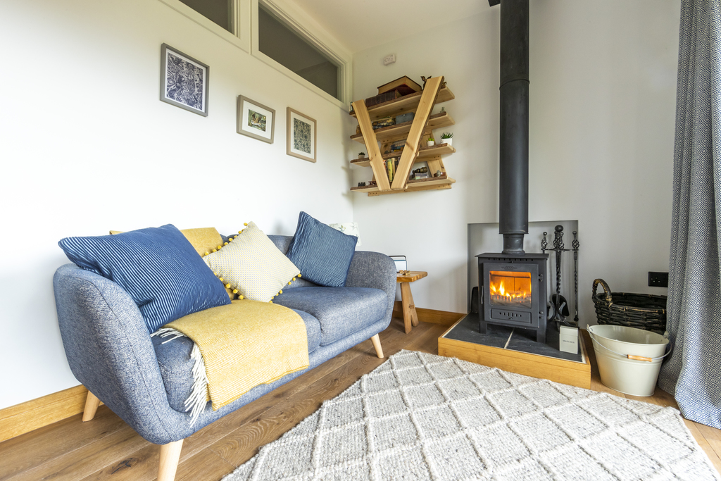Forest of Dean Cabins at The Roost Glamping: the Nest Interior