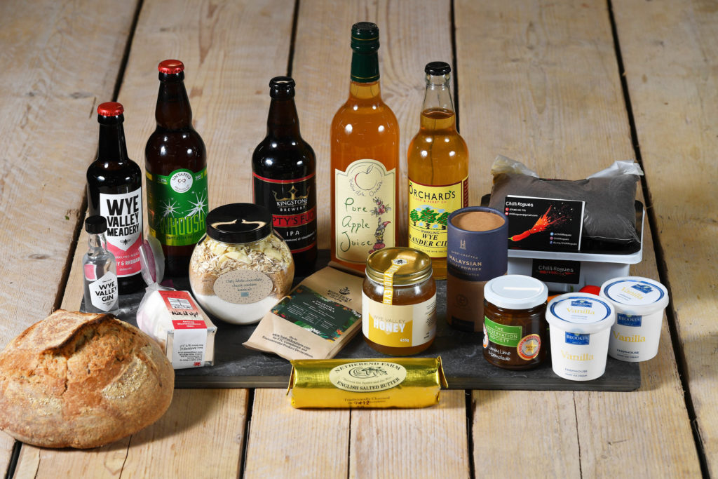 products from the Wye Valley producers