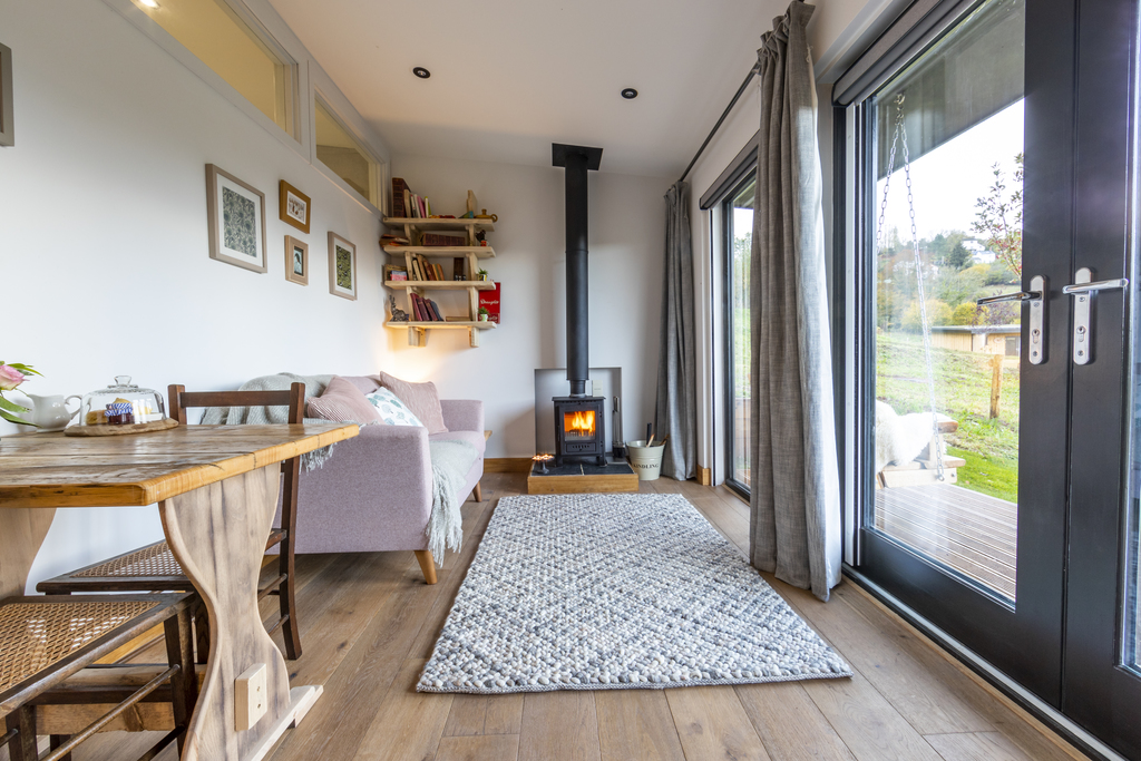 Forest of Dean Cabins at The Roost Glamping: the Nook Interior