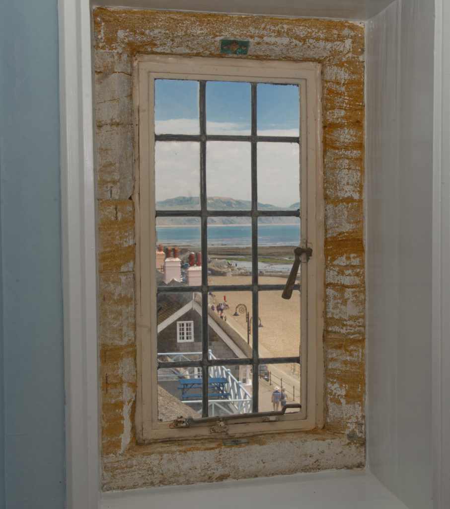 lyme-regis-holiday-cottage Sundial House view from window