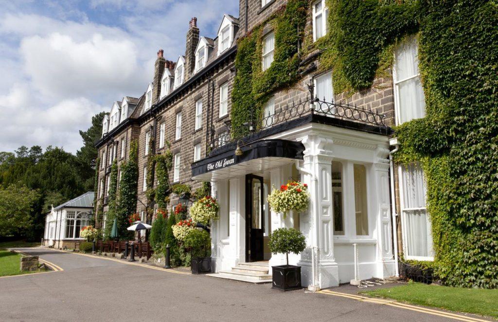 Outside of The Old Swan Hotel, Harrogate