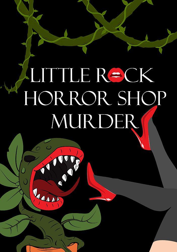 little rock horrow murder shop poster