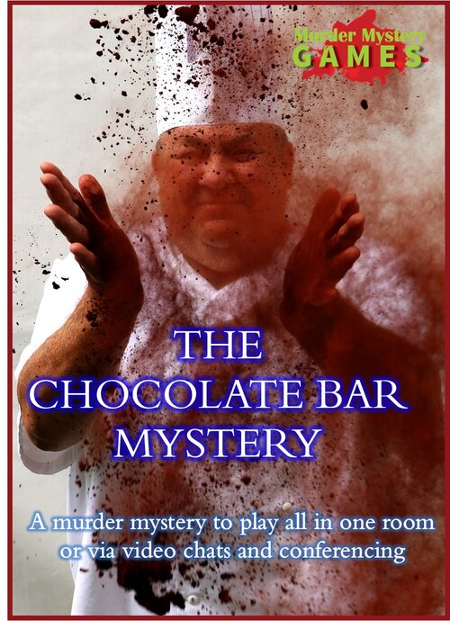 Murder mystery weekend - chocolate bar mystery cover