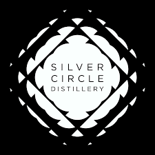 Logo for the Silver Circle Distillery in Monmouthshire, Wales