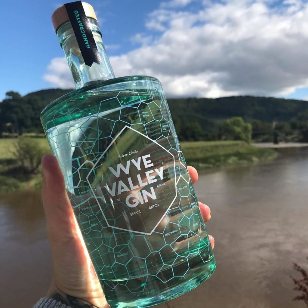 wye valley gin from the silver circle distillery