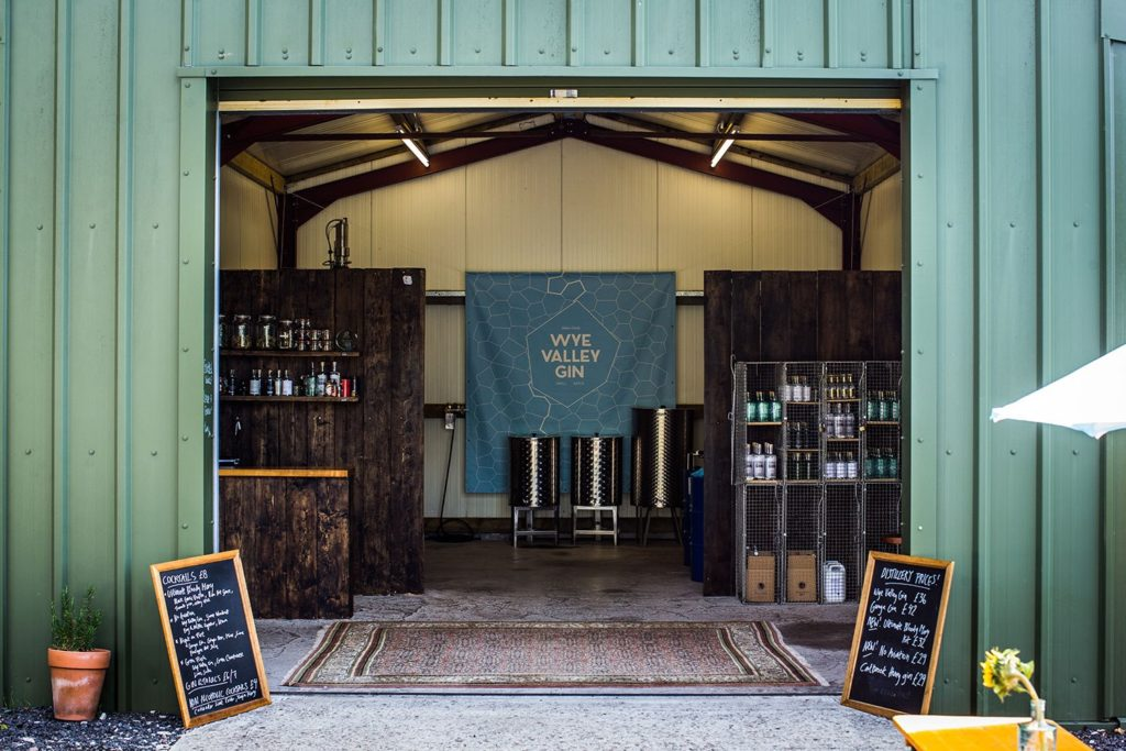 Premise of the Silver Circle Distillery Wales