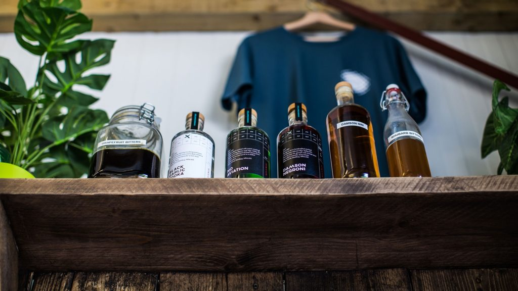 wye valley gin at the silver circle distillery