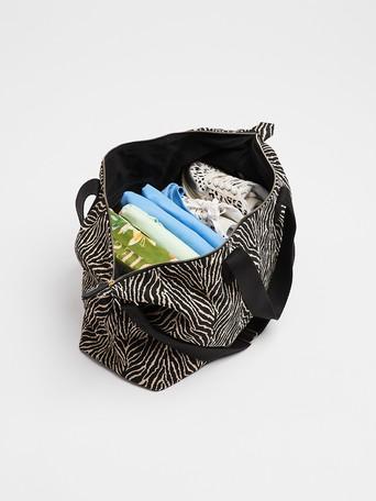 ebra-print-weekend-bag by Oliver Bonas