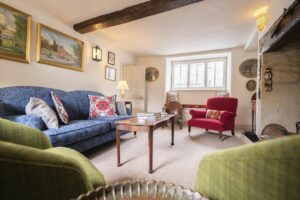 eastbury hotel in sherborne - eastbury cottage living room