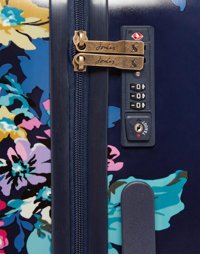 Joules weekend bag zip and lock