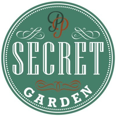 secret garden cafe in cardiff - logo